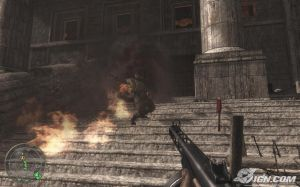 CoD:WaW flamethrower scripted death